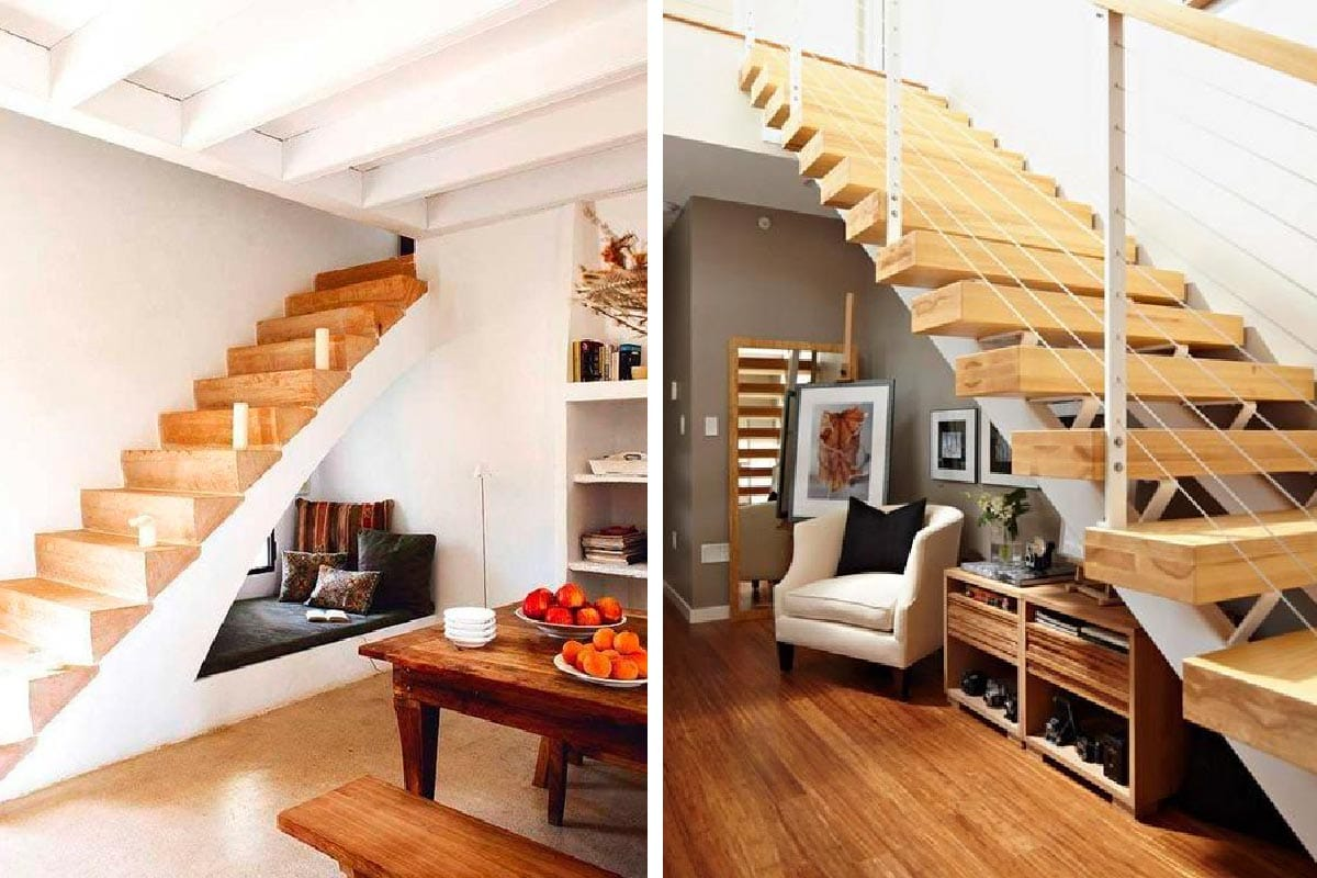 Como decorar una escalera interior beautiful with como for Ideas para decorar escaleras