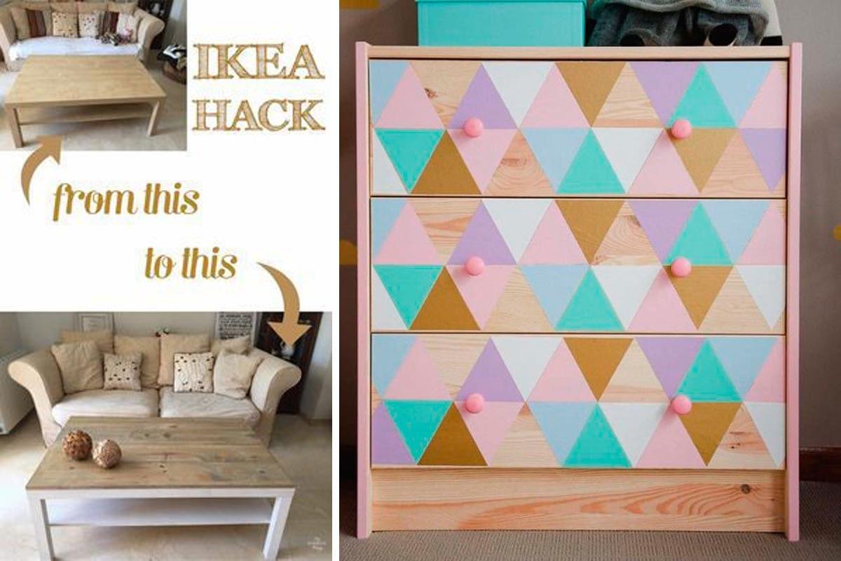 Ikea desde otro punto de vista customiza tus muebles for Customizar muebles ikea